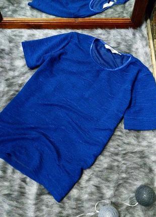 Топ блуза кофточка из фактурной ткани
