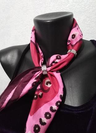 Наборчик колечек-держателей для шарфа, платка, 2 шт
