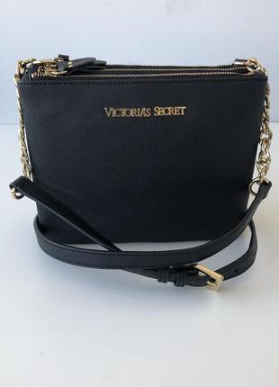Кожаная сумка кожа 3в1 victoria's secret оригинал