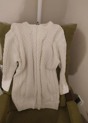 Платье объемный свитер