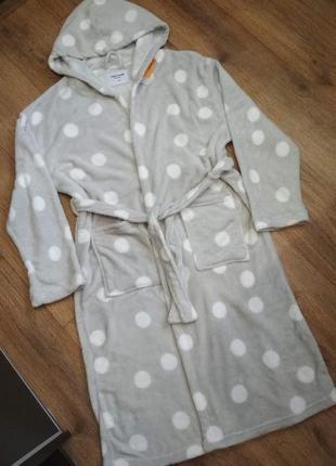 Фирменный новый нежнейший халат tom&rose, р. l-xl, есть замеры