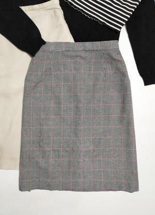 ❤️ актуальная юбка в гусиную лапку