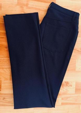 Trussardi,оригинал, брюки классические узкие, высокая талия