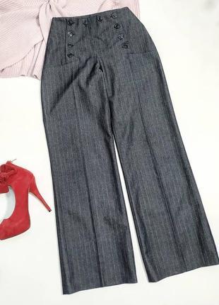❤️шикарные брюки в полоску