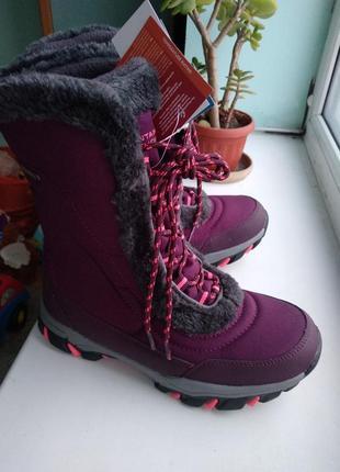 Зимние фирменные сапоги из англии  mountain warehouse