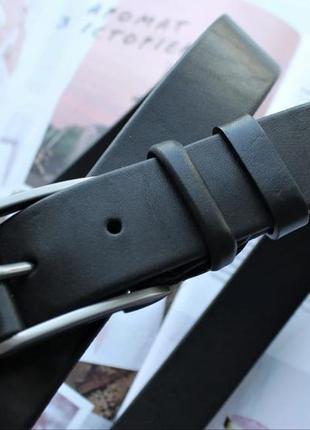 Женский классический кожаный пояс ремень