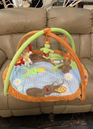 Коврик развивающий для младенцев lupilu