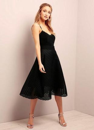 Сказочная бандажная юбка-миди