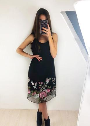Очень красивое платье в цвет плаття в квіти new look