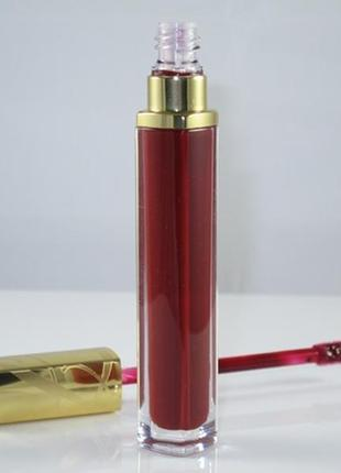 Блеск - лак estee lauder pure color high intensity lip lacquer 04 ruby glow тестер