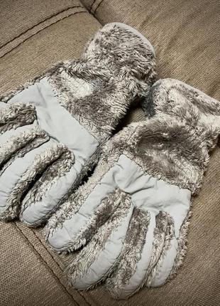 The norte face перчатки