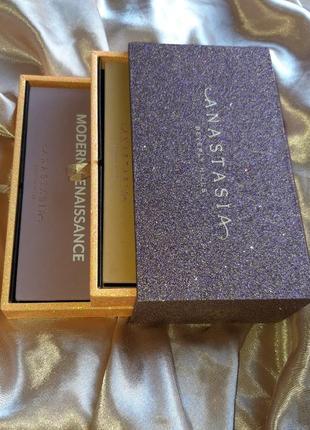 Шикарный набор отличный подарок anastasia beverly hills eyeshadow palette vault