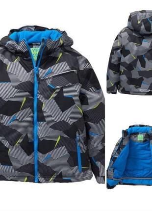 Зимняя теплая термокуртка y.f.k