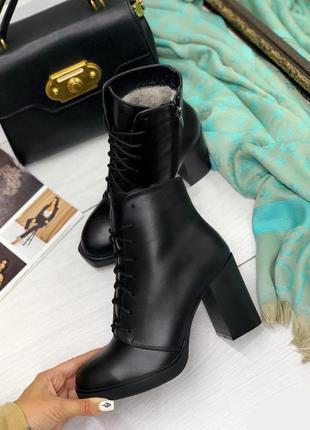 Зимние ботинки, ботинки на каблуке