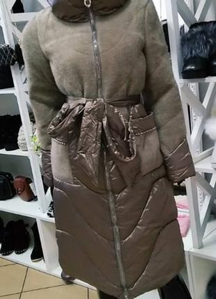 Пальто жіноче зимове 42 розмір