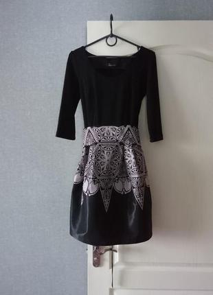 Нарядное черное  платье seam, размер 44-46