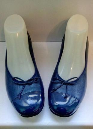 Туфли кожаные комфортные hotter, р. 37,5-38.