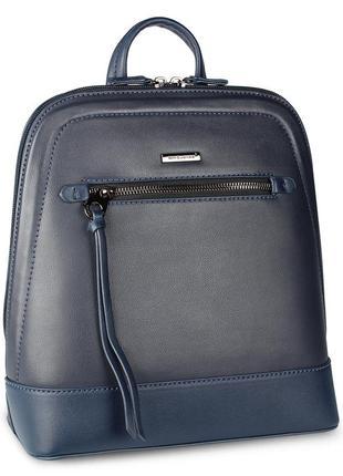 Стильный женский рюкзачок david jones синего цвета