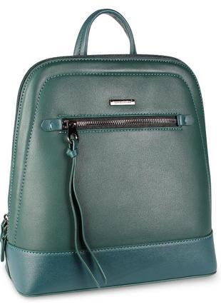 Стильный женский рюкзачок david jones зеленого цвета