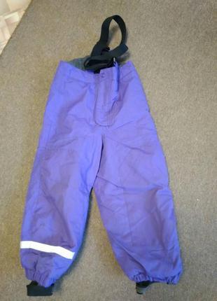Термокомбинезон штаны зимний h&m
