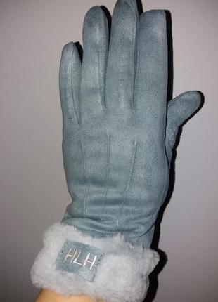 Зимние меховые перчатки, варежки