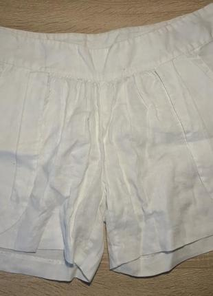 Пляжные шорты из льна