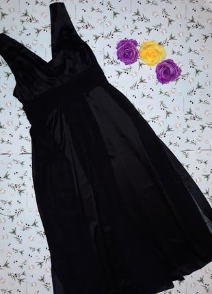 🌿1+1=3 фирменное вечернее нарядное макси длинное платье, размер 48 - 50