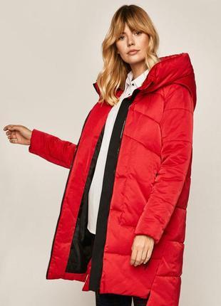 Зимняя теплая куртка пуховик пальто оверсайз одеяло