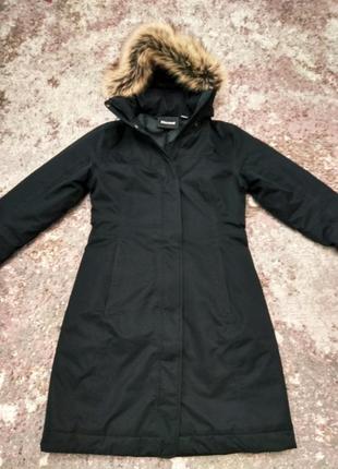 Зимнее пальто marmot chelsea down состояние нового, надела считанные