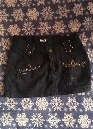 Мини юбка d&g оригинал
