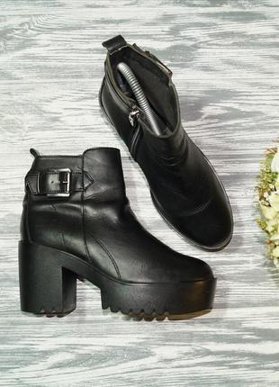 🌿37🌿pittarello. италия. кожа. крутые ботинки на массивной платформе