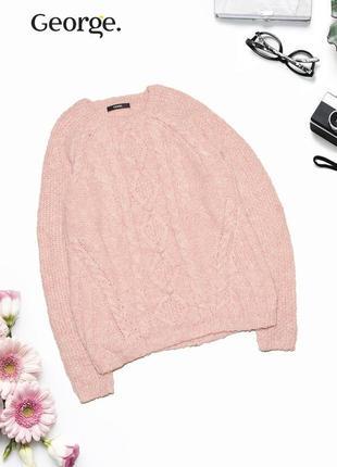 Теплый нежный свитер george