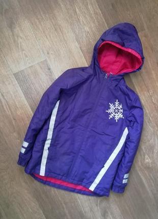 Зимняя термо мембранная лыжная куртка, курточка