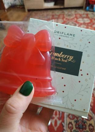 Мыло cranberry black tea oriflame
