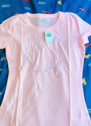 Женская футболка abercrombie & fitch, s