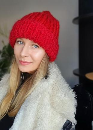 Шапка *ручна робота* тепла зима