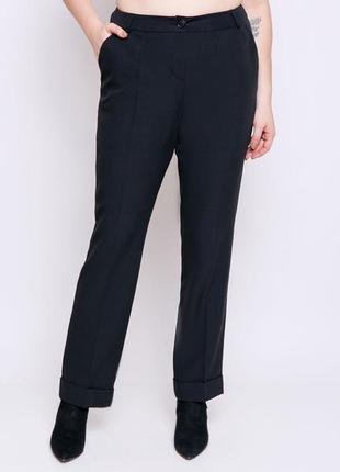 Классические брюки из костюмной ткани стрейч