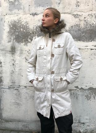 Куртка esprit с капюшоном