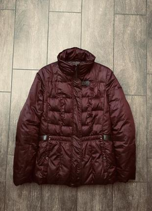 Шикарная пуховая куртка пуховик парка пальто