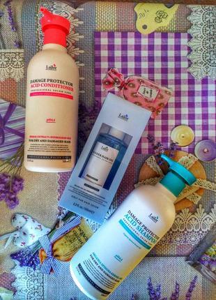Набор la'dor lador ладор для волос шампунь,  бальзам, и масло для волос
