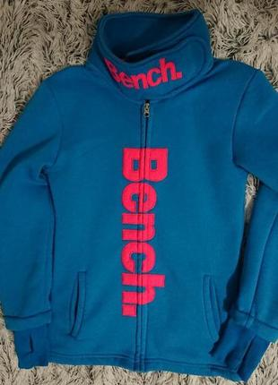 Флисовый крутой свитер bench