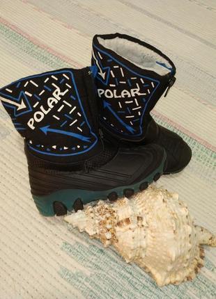 Зимние термо ботинки lupilu