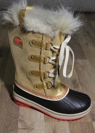 Шикарні дитячі чобітки sorel ботинки сапоги оригинал