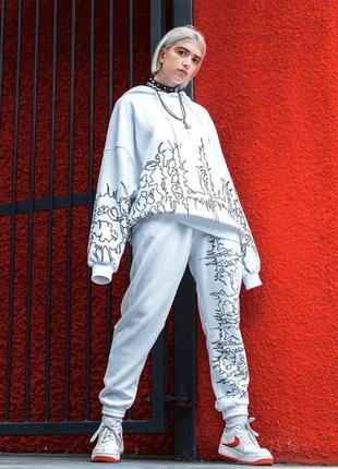 Спортивный прогулочный костюм bershka x billie eilish