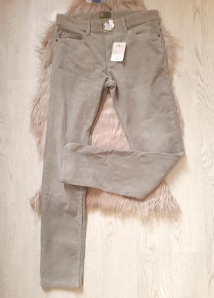 Бежевые вельветовые штаны мужские стильные watson's