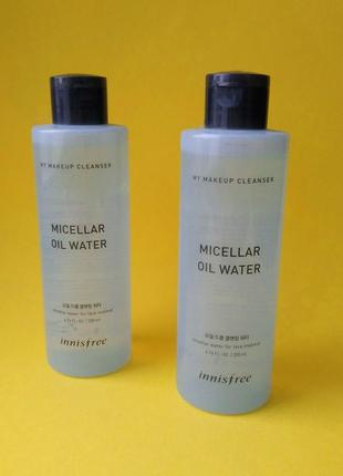 Двухфазная мицеллярная вода innisfree my makeup cleanser micellar oil water