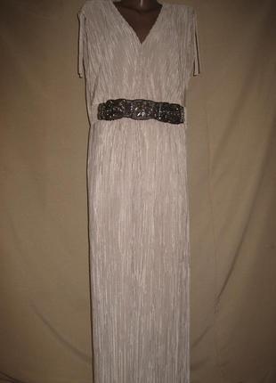 Длинное нарядное платье joanna hoppe р-р18,