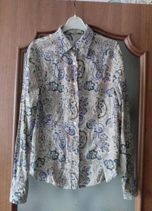 Etro (italy)  коттоновая рубашка
