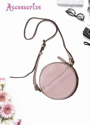 Сумка кроссбоди круглой формы accessorize