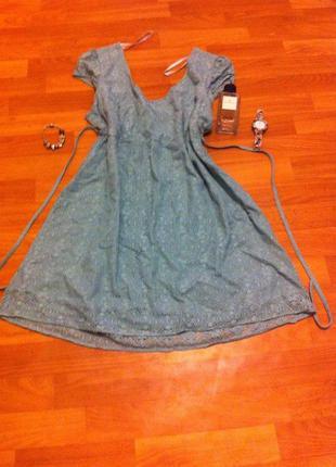 Платья мятное dorothy perkins